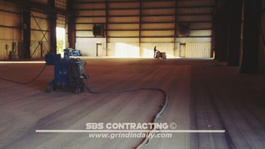 SBS Contracting Concrete Grinding Project 01 01