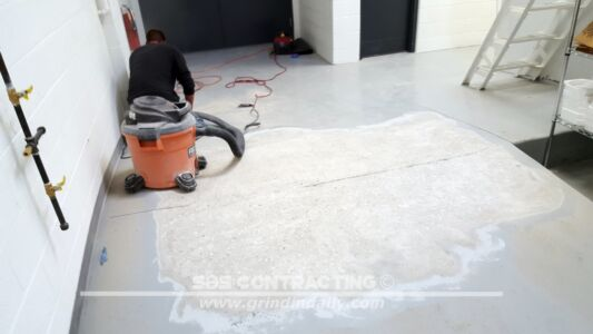 SBS Contracting Concrete Grinding Project 03 02