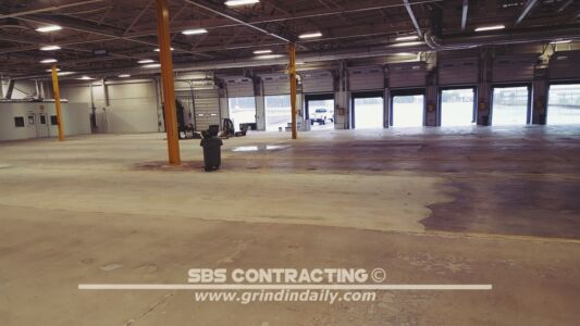 SBS Contracting Concrete Grinding Project 04 01