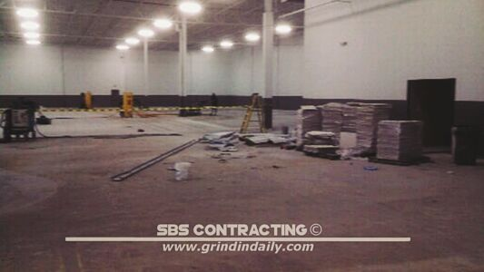 SBS Contracting Concrete Grinding Project 04 02