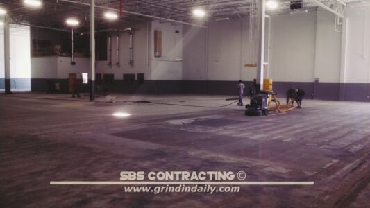 SBS Contracting Concrete Grinding Project 05 01