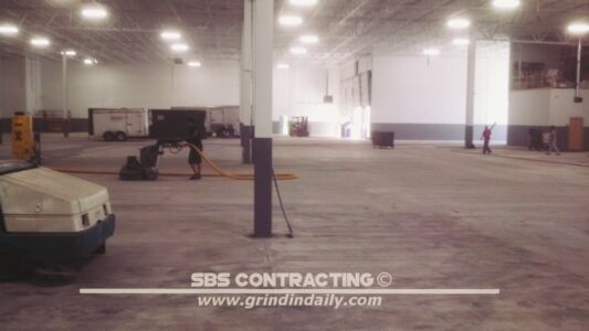 SBS Contracting Concrete Grinding Project 05 02