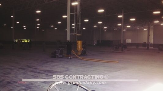 SBS Contracting Concrete Grinding Project 05 04