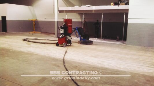 SBS Contracting Concrete Grinding Project 06 01