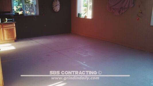 SBS Contracting Concrete Grinding Project 07 03