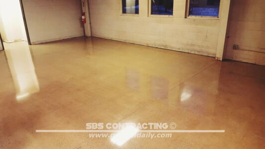 SBS Contracting Concrete Polish Project 01 02