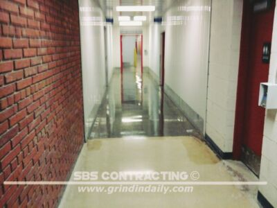 SBS Contracting Concrete Polish Project 03 08
