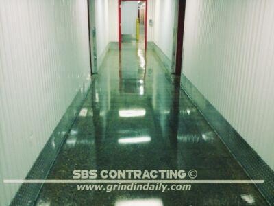 SBS Contracting Concrete Polish Project 03 09