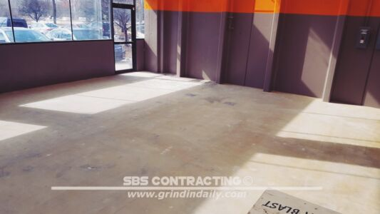 SBS Contracting Concrete Polish Project 06 01
