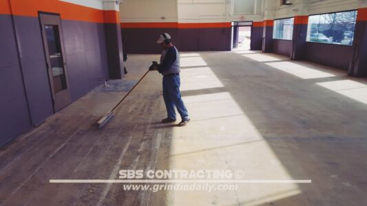 SBS Contracting Concrete Polish Project 06 02