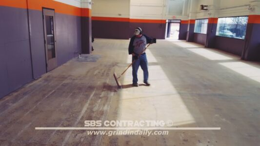 SBS Contracting Concrete Polish Project 06 03
