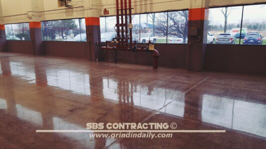 SBS Contracting Concrete Polish Project 06 04