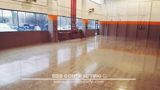 SBS Contracting Concrete Polish Project 06 06