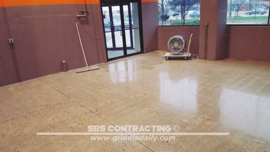 SBS Contracting Concrete Polish Project 06 07