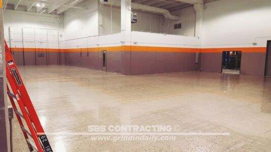SBS Contracting Concrete Polish Project 06 09