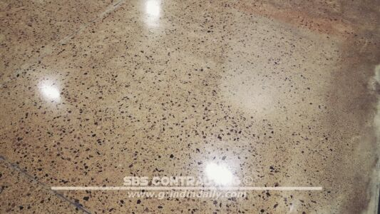 SBS Contracting Concrete Polish Project 06 10