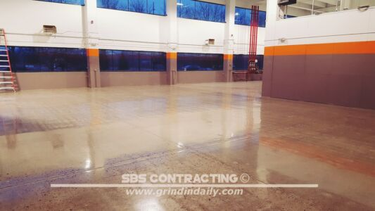 SBS Contracting Concrete Polish Project 06 11