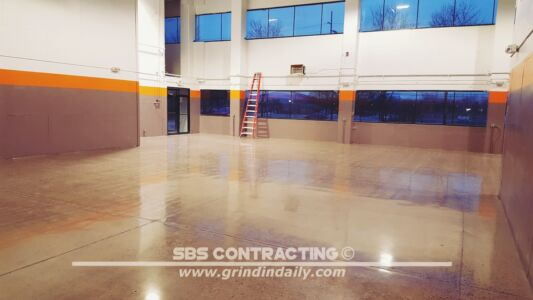 SBS Contracting Concrete Polish Project 06 12