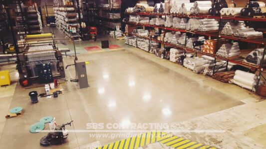 SBS Contracting Concrete Polish Project 07 02