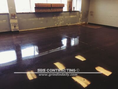 SBS Contracting Concrete Polish Project 08 01
