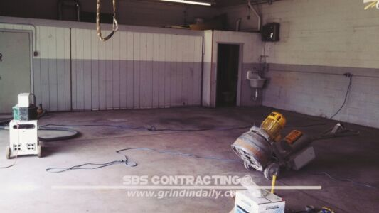 SBS Contracting Concrete Polish Project 09 01