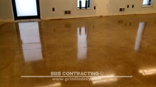 SBS Contracting Concrete Polish Project 11 01