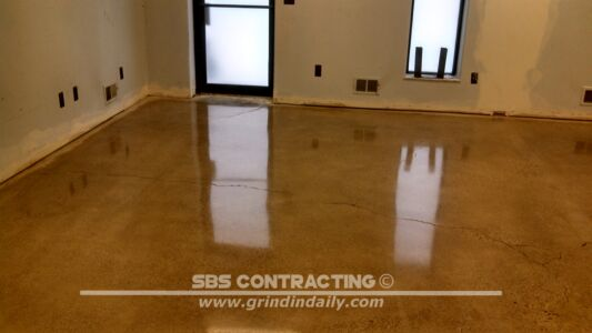 SBS Contracting Concrete Polish Project 11 02