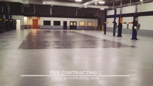 SBS Contracting Concrete Polish Project 11 04