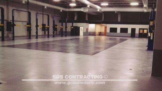 SBS Contracting Concrete Polish Project 11 05