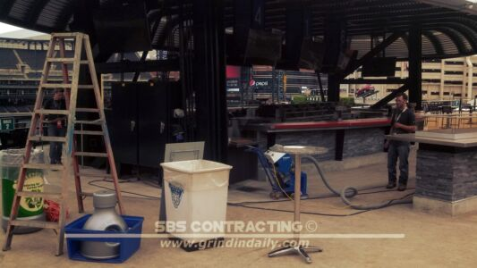 SBS Contracting Concrete Polish Project 12 01