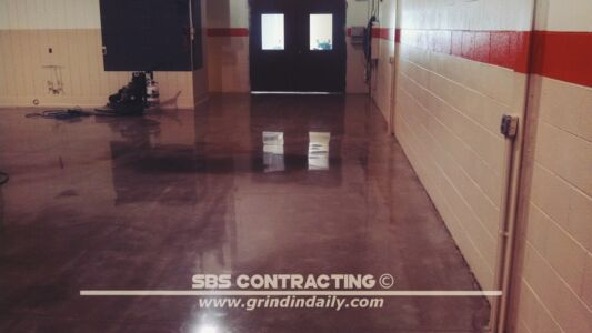 SBS Contracting Concrete Polish Project 12 02