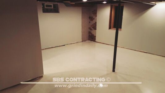 SBS Contracting Concrete Polish Project 13 01