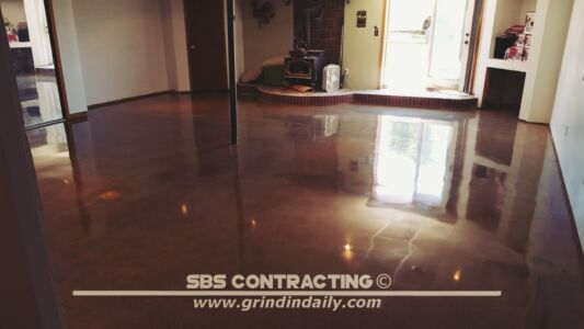 SBS Contracting Concrete Polish Project 13 04