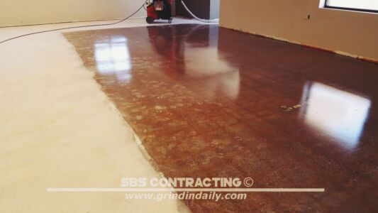 SBS Contracting Concrete Polish Project 13 06