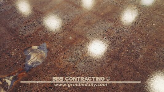 SBS Contracting Concrete Polish Project 13 08