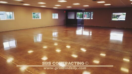 SBS Contracting Concrete Polish Project 13 10