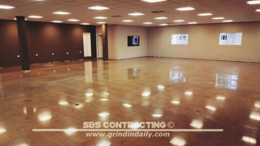 SBS Contracting Concrete Polish Project 13 11