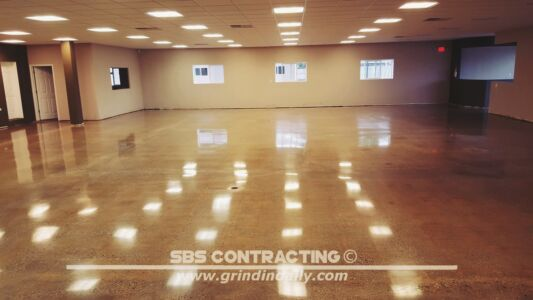 SBS Contracting Concrete Polish Project 13 12