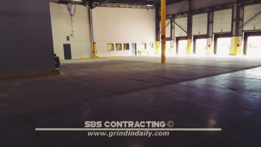 SBS Contracting Concrete Shot Blasting Project 02 02