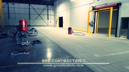 SBS Contracting Concrete Shot Blasting Project 02 03