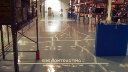 SBS Contracting Concrete Shot Blasting Project 03 01