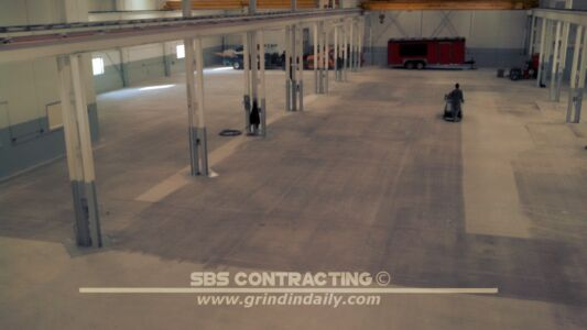 SBS Contracting Concrete Shot Blasting Project 03 03