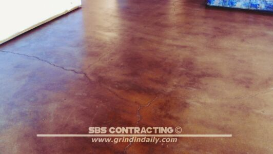 SBS Contracting Concrete Stain Project 01 04