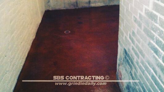 SBS Contracting Concrete Stain Project 02 01