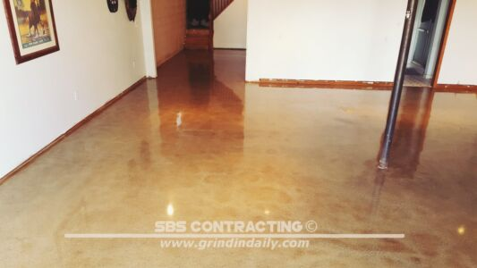 SBS Contracting Concrete Stain Project 03 05