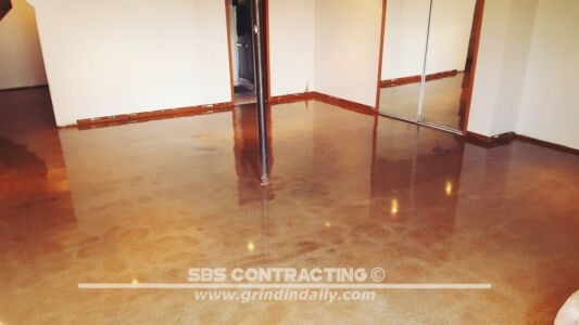 SBS Contracting Concrete Stain Project 03 06