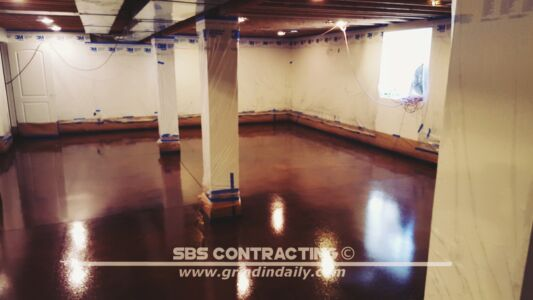 SBS Contracting Concrete Stain Project 05 03