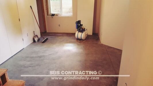 SBS Contracting Concrete Stain Project 05 11