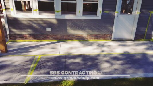 SBS Contracting Concrete Stain Project 06 01