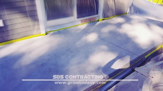 SBS Contracting Concrete Stain Project 06 02